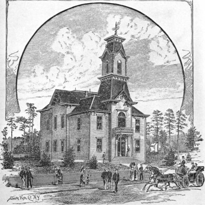 Sumter Co. Courthouse 1885